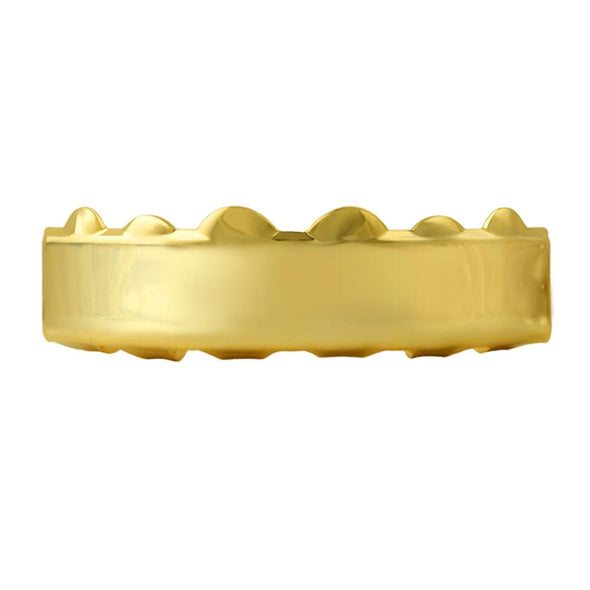 Gold Grillz Bar Hip Hop Style Top