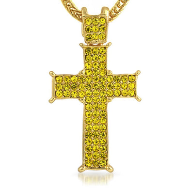 Lemonade Prong Cross  Chain Small