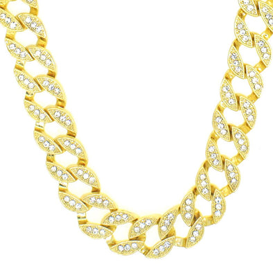 Bling Miami Cuban Chain Gold