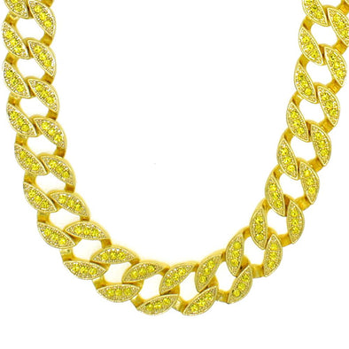 Lemonade 15MM Miami Cuban Chain