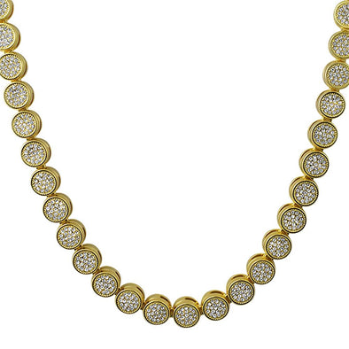 Pave Gold Chain
