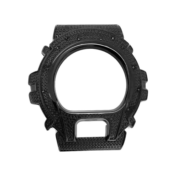 Black Diamond .12 Carat Bezel for Casio G Shock DW6900