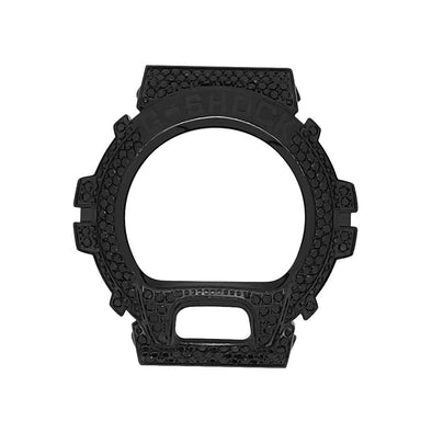 Stainless Steel Case Black Bezel for Casio G Shock DW6900