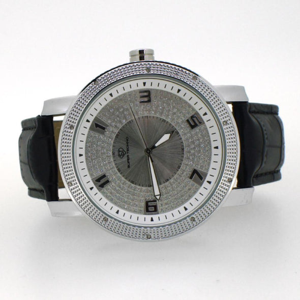 Icey Real Diamond Hip Hop Watch Super Techno