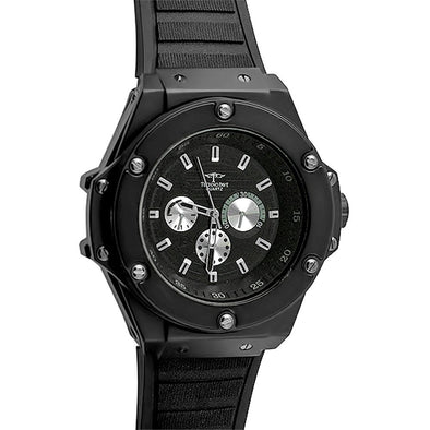 Black Solid Fashion Watch