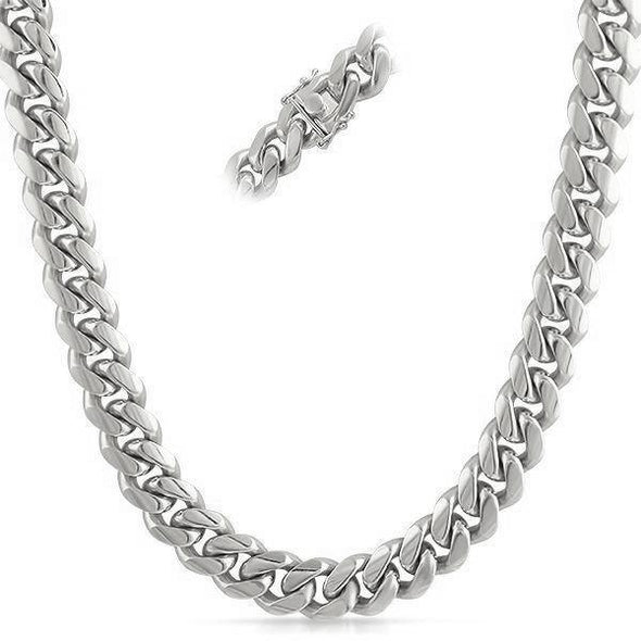Miami Cuban Stainless Steel Chain 8MM