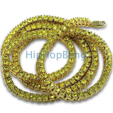 Lemonade 1 Row Bling Bling Tennis Chain