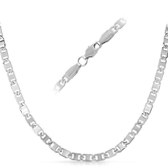 Marine Stainless Steel Chain Necklace 4MM