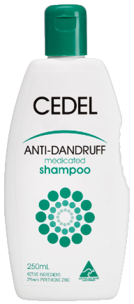 Anti Dandruff Medicated Shampoo 250mL