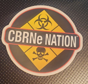 CBRNe Nation stickers (6 pack)
