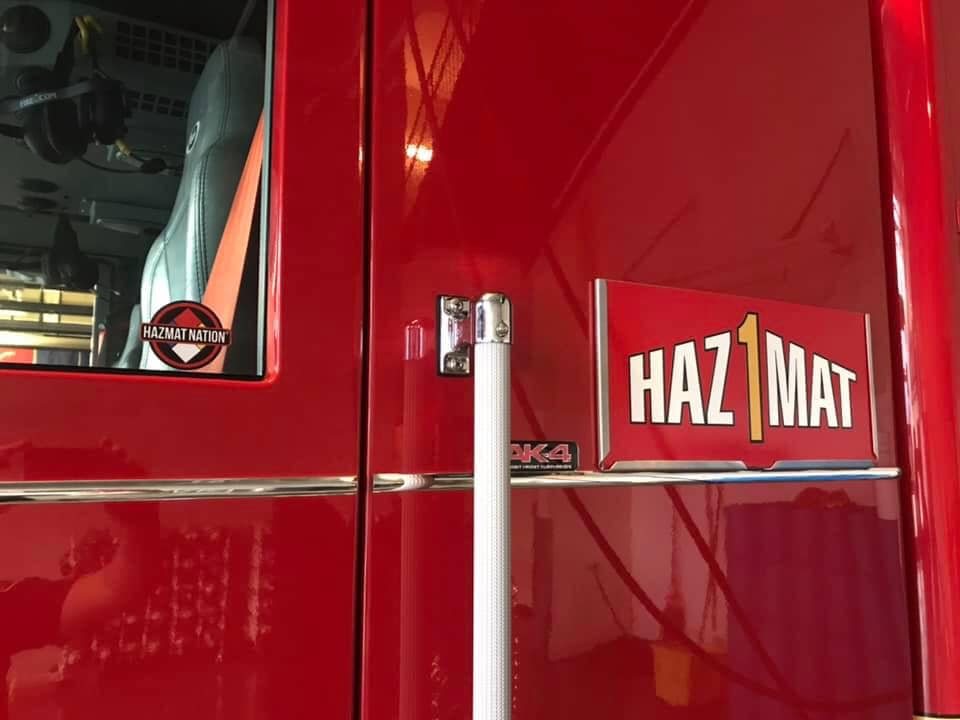 Six Pack of Hazmat Nation Stickers