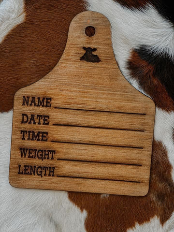 Baby Announcement Eartag