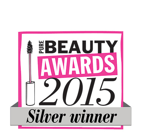 Pure Beauty Awards Best New Natural Beauty Product Silver Award Winner