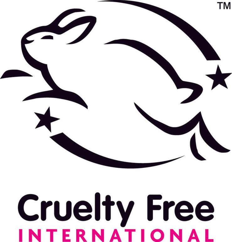 Proudly leaping bunny internationally certified and cruelty free