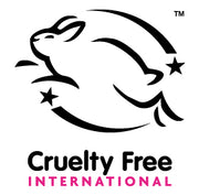 Proudly Leaping Bunny Certified Internationally and cruelty free