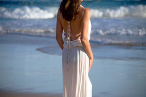 Sunset Beach Hand Beaded Sundress