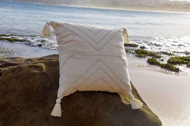 Island Living Hand Woven Cushion