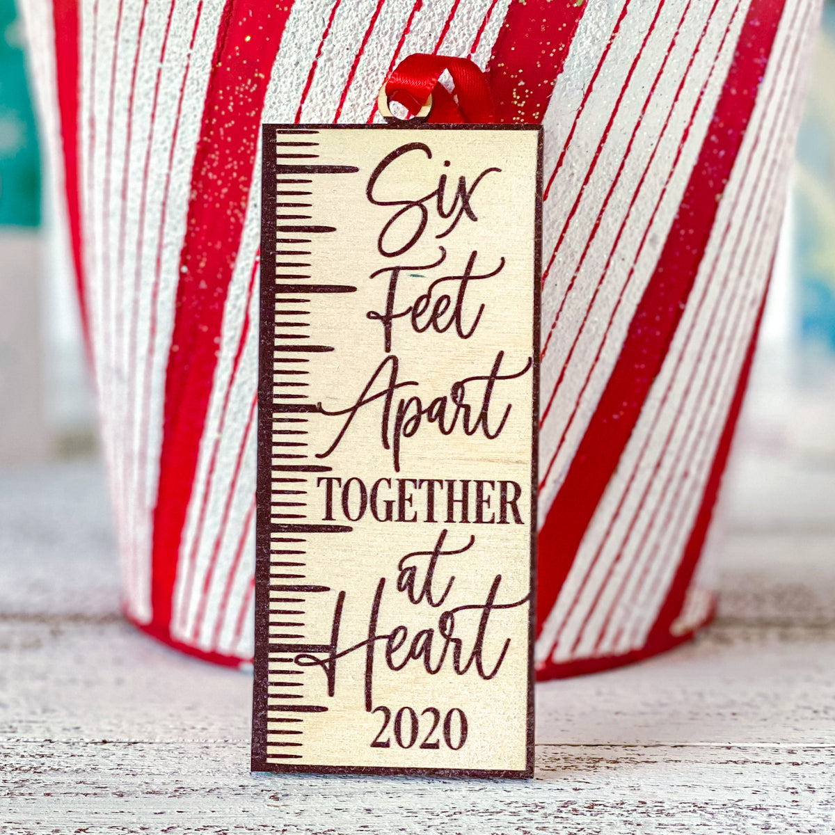 Six Feet Apart Together At Heart 2020