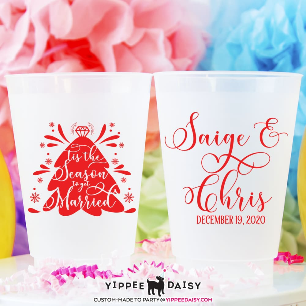 Saige & Chris - Frosted Cups