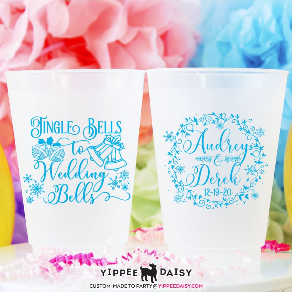 Jingle Bells To Wedding Bells Frosted Cups - Frosted Cup