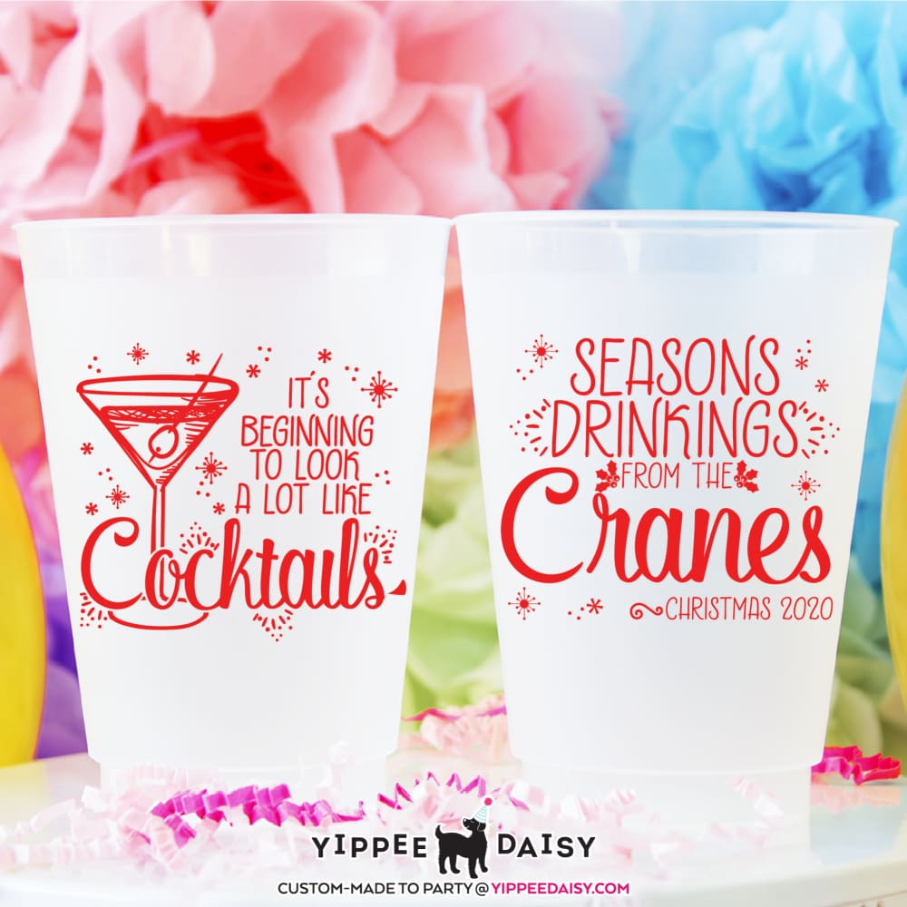 Season Drinkings - Frosted Cups