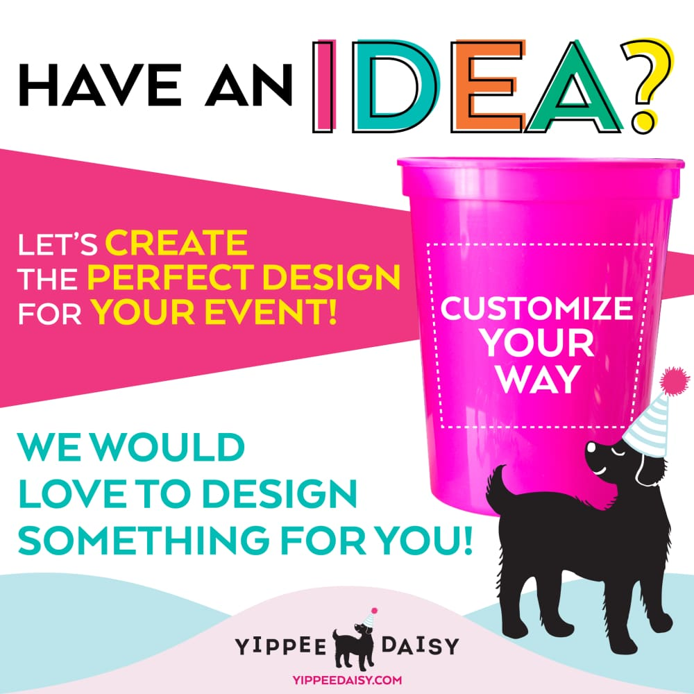 Customize Your Way For Any Event Personalized Stadium Cups - Stadium Cup
