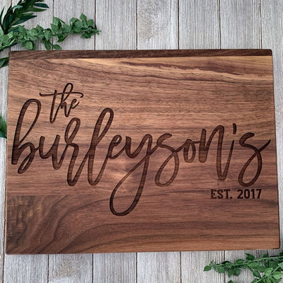 Classic Family Exquisiteness Cutting Board
