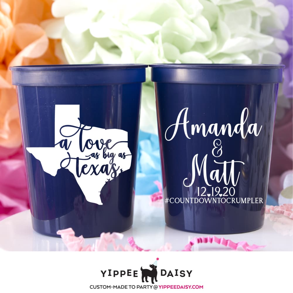 A Love As Big As Texas Stadium Cups - Stadium Cup