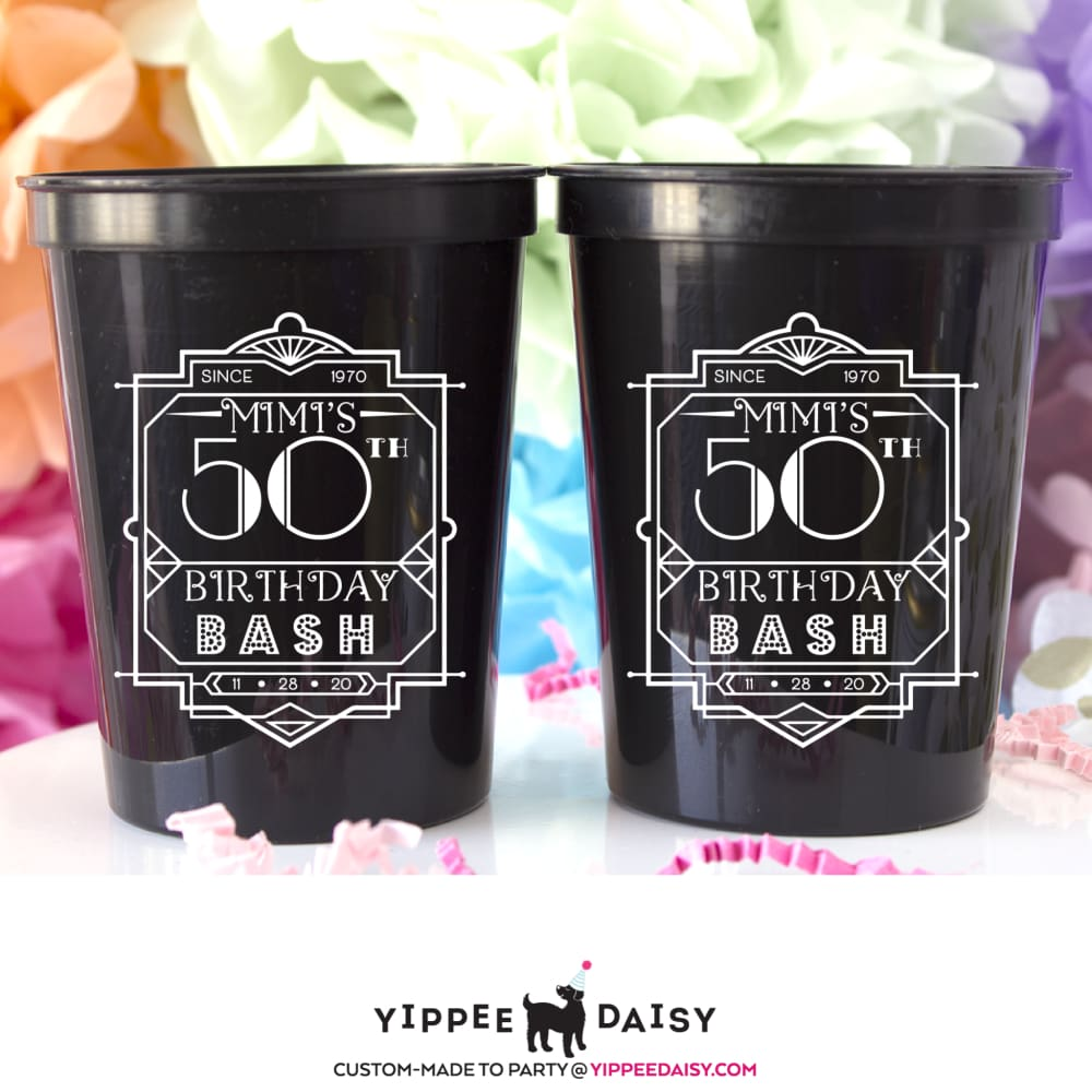 Birthday Bash Stadium Cups - Stadium Cup