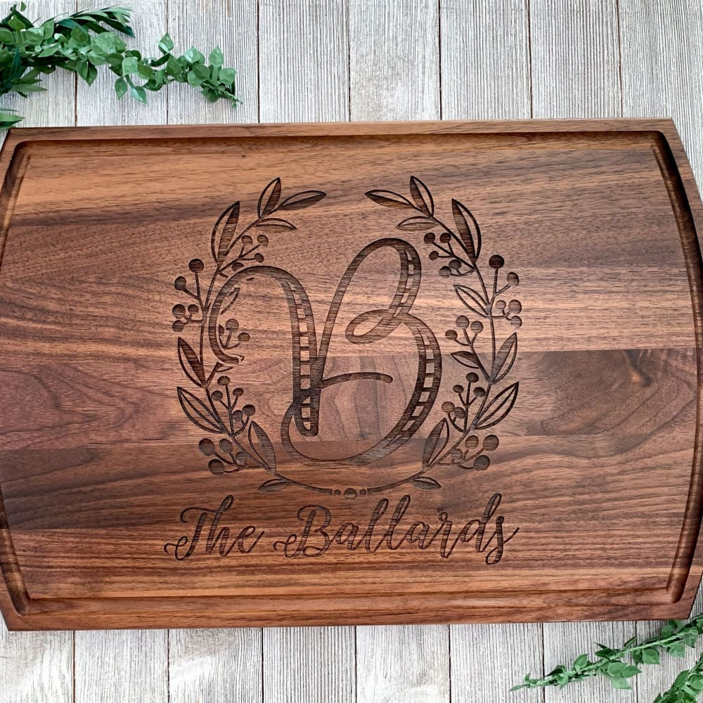 The Grill Personalized Cutting Board