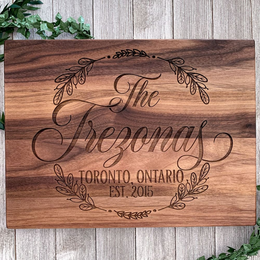 Home State Personalized Cutting Board