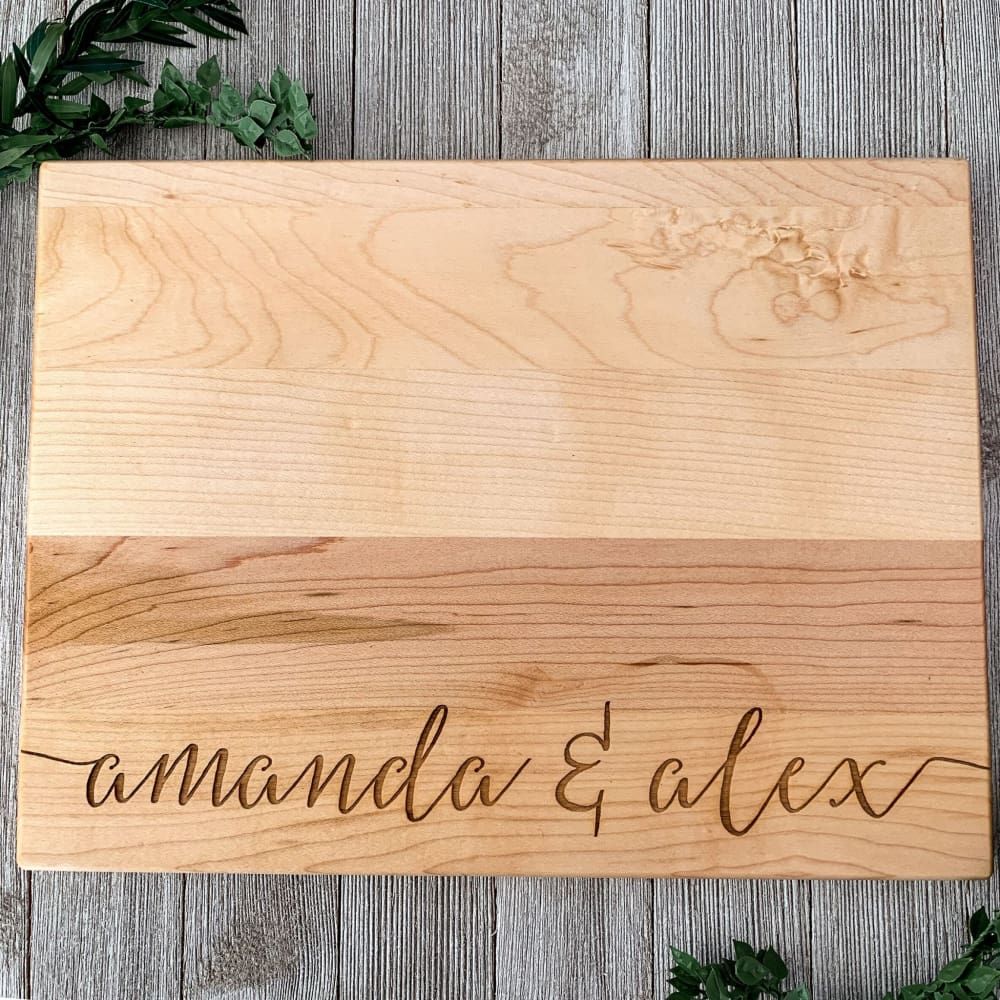 Cozy Home Personalized Cutting Board