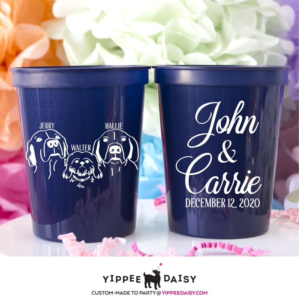 John & Carrie - Stadium Cups