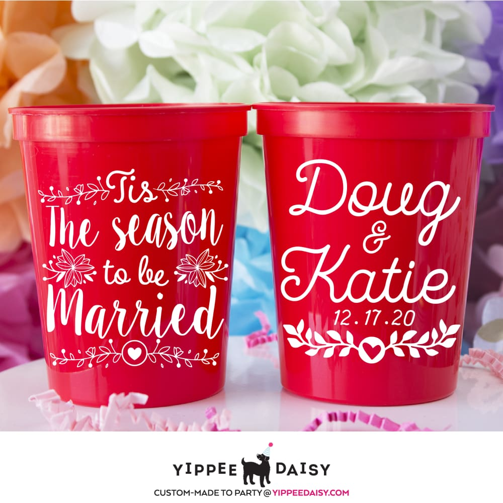 The Season To Be Married - Stadium Cups
