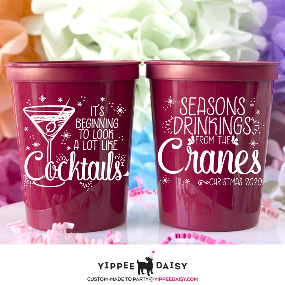 Seasons Drinkings From The Cranes - Stadium Cups