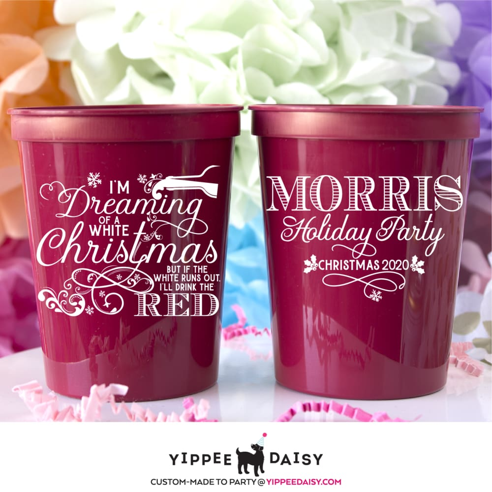 I'm Dreaming Of A White Christmas - Stadium Cups