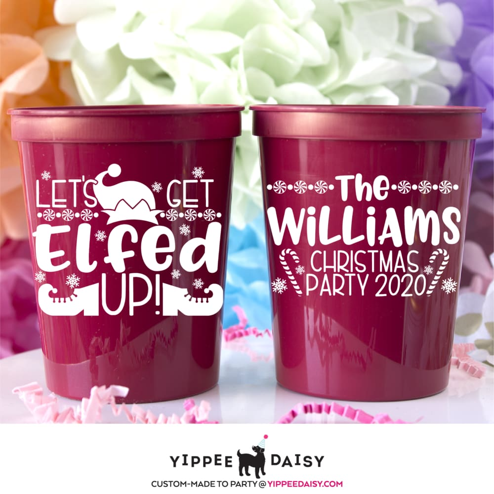 Let's Get Elfed Up! - Stadium Cups