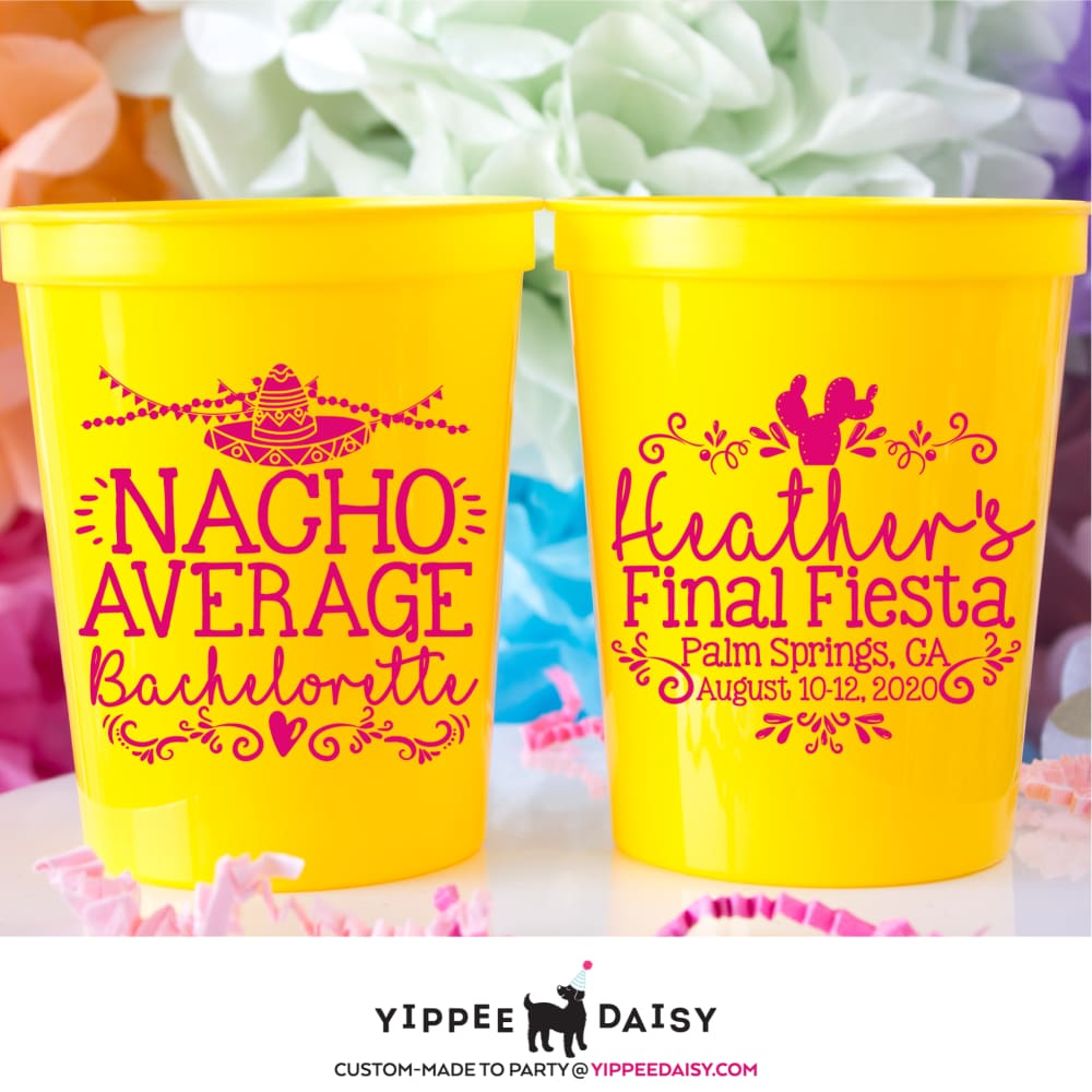 Nacho Average Stadium Cups