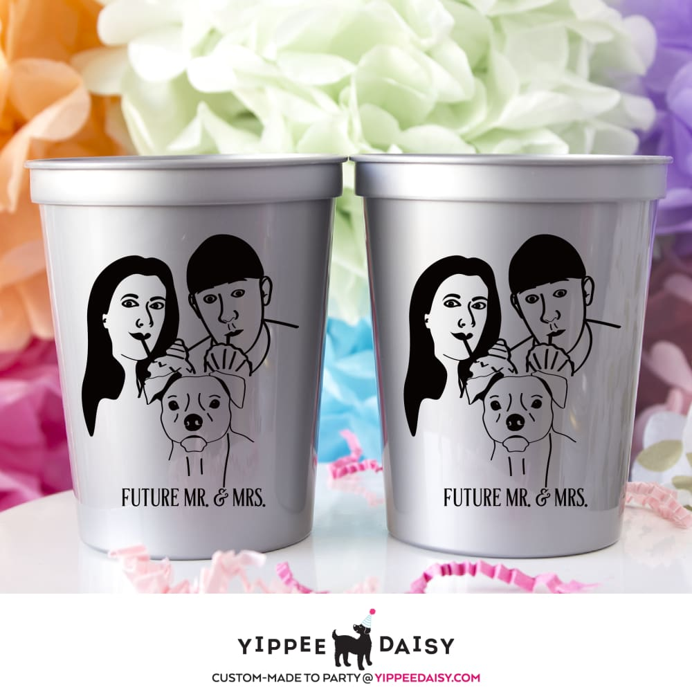 Future Mr. & Mrs. - Stadium Cups