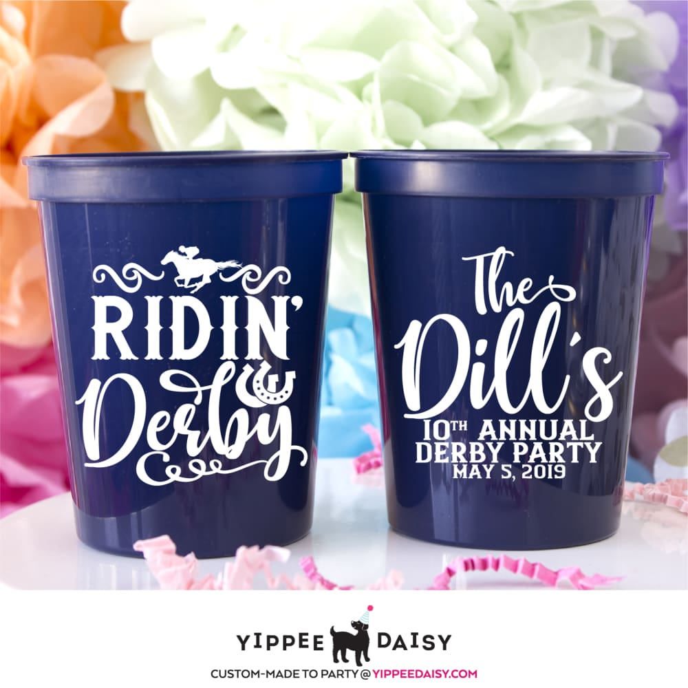 Ridin' Derby Stadium Cups