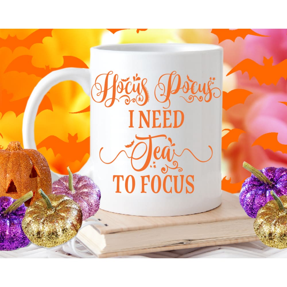 Hocus Pocus I Need Tea To Focus - Mug