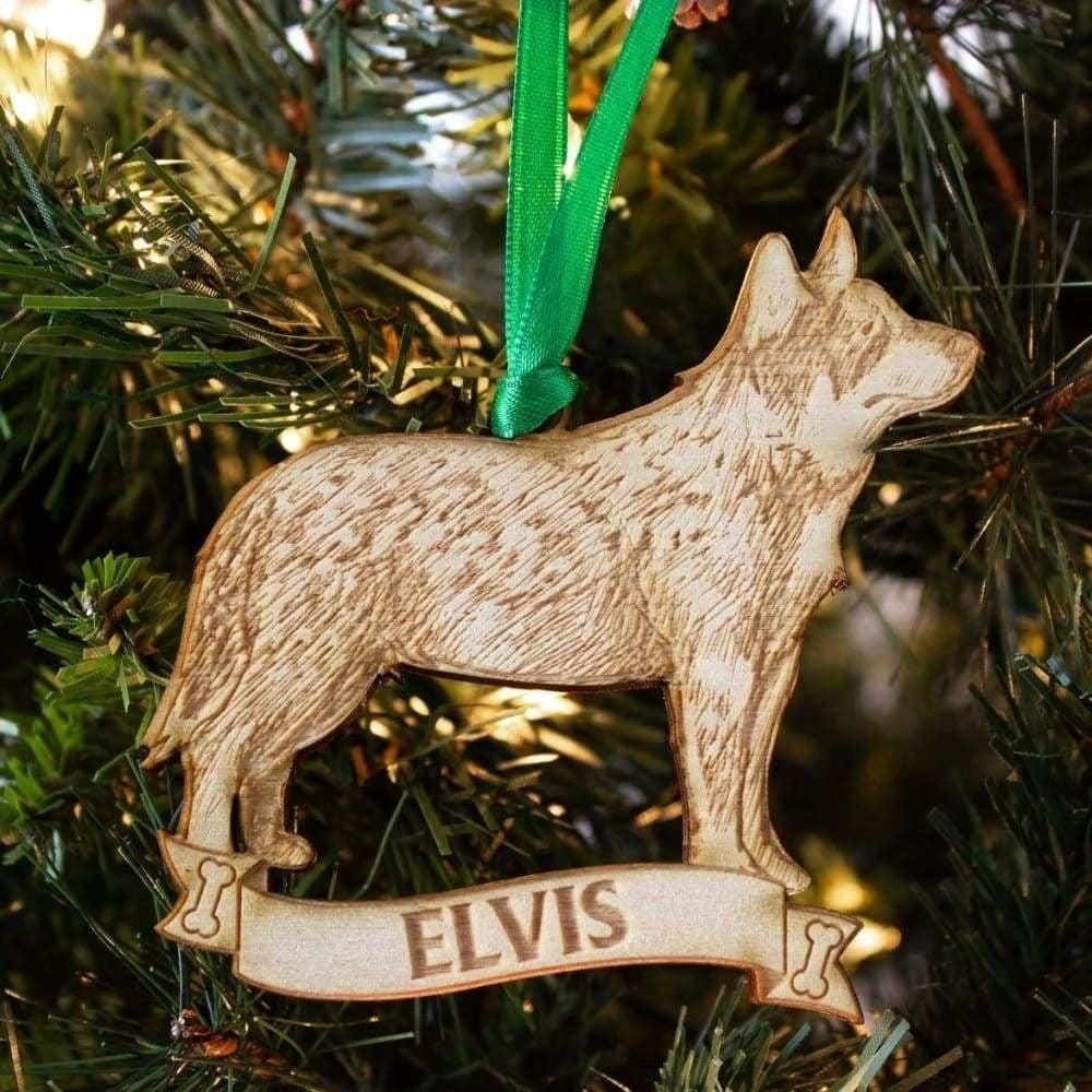Australian Cattle Dog Custom Personalized Ornament - Ornaments
