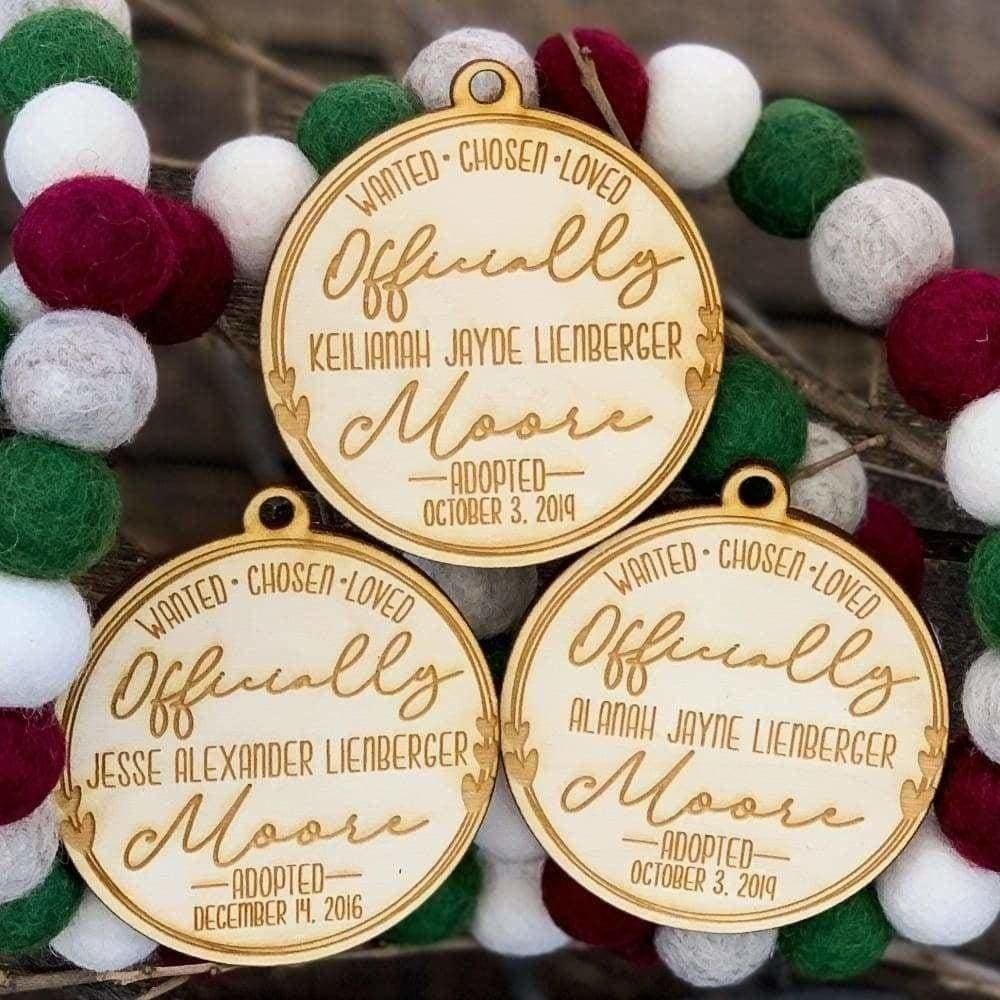 Adoption Ornament - Ornaments