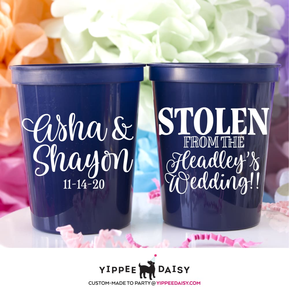 Stolen From The Wedding Stadium Cups