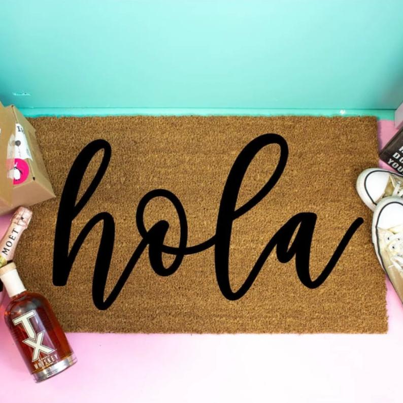 Hola Welcome Doormat - Doormat