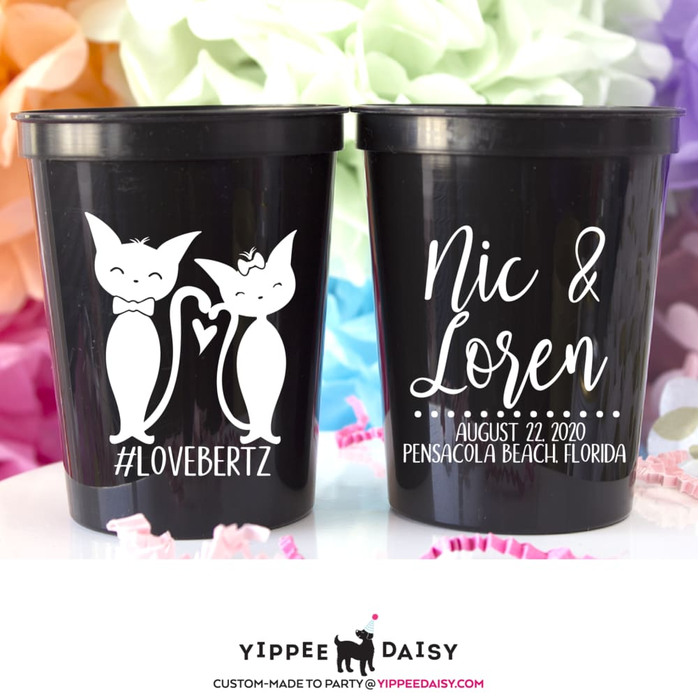 Cat Lovers Stadium Cups