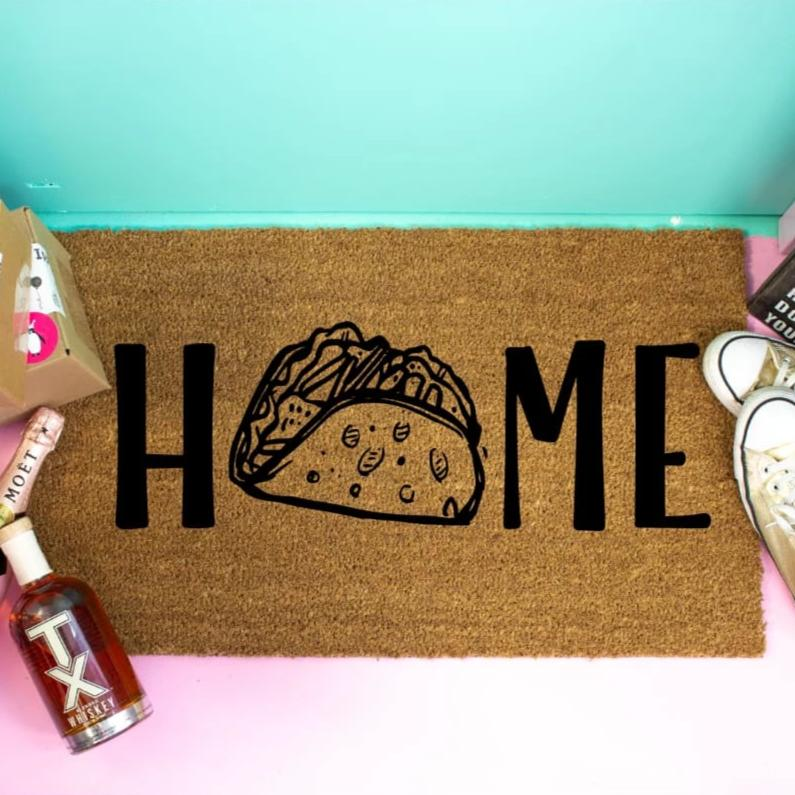 Funny Doormat Taco Lovers - Doormat