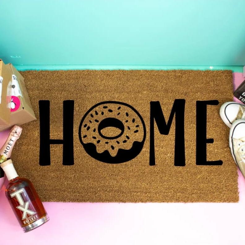 Funny Doormat Donut Lovers - Doormat