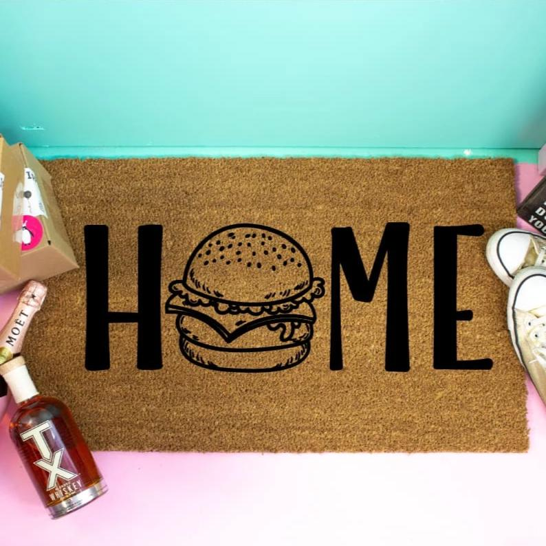 Funny Doormat Burger Lovers - Doormat