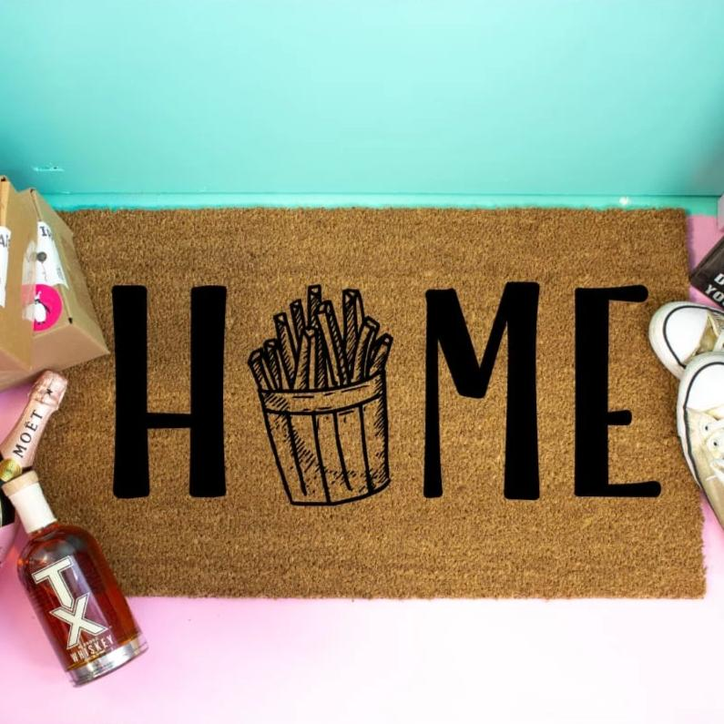Funny Doormat French Fries - Doormat